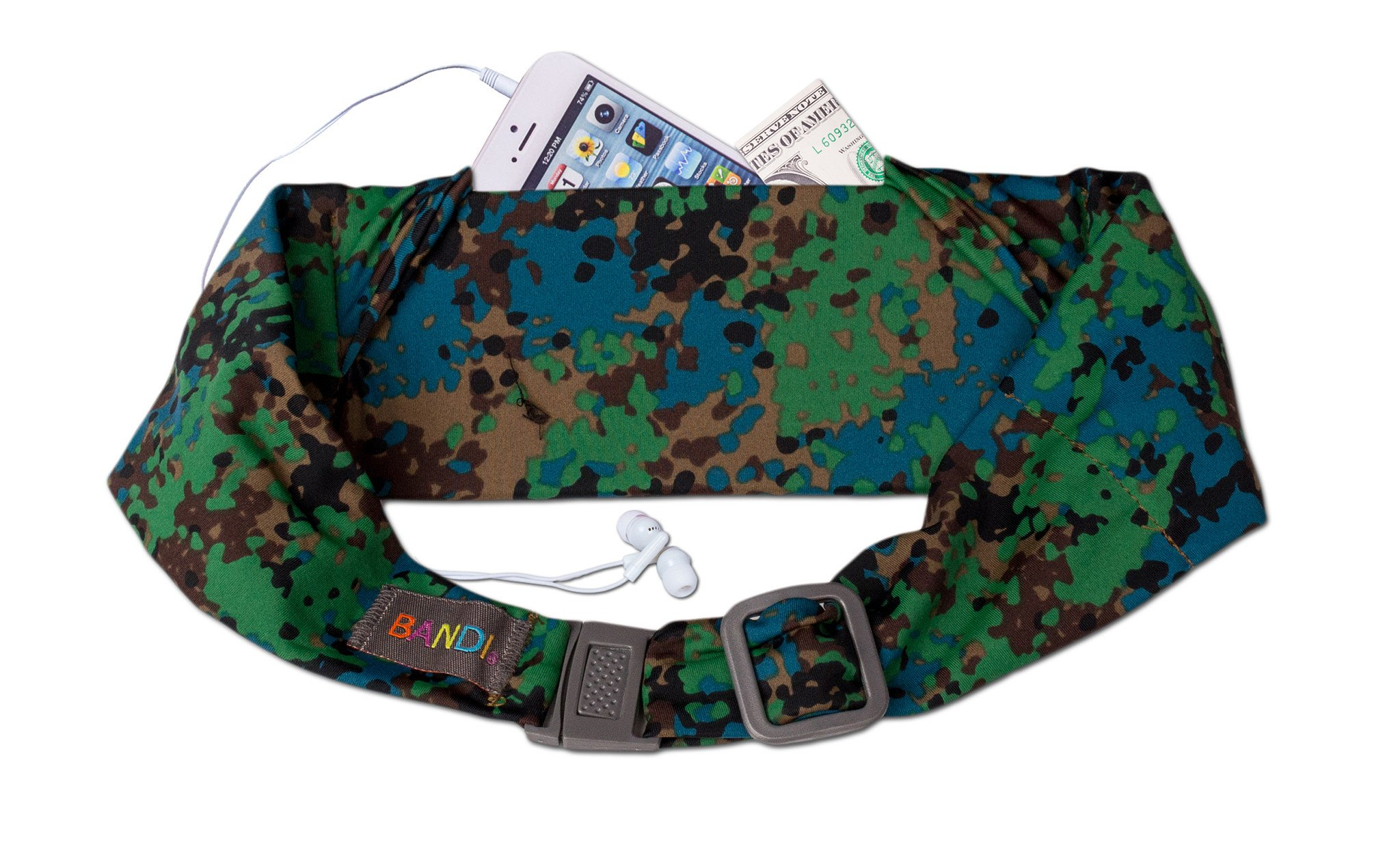 BANDI Kids Belt Urban Earth Camo