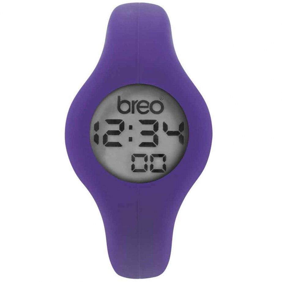Breo Spin Watch Purple Large