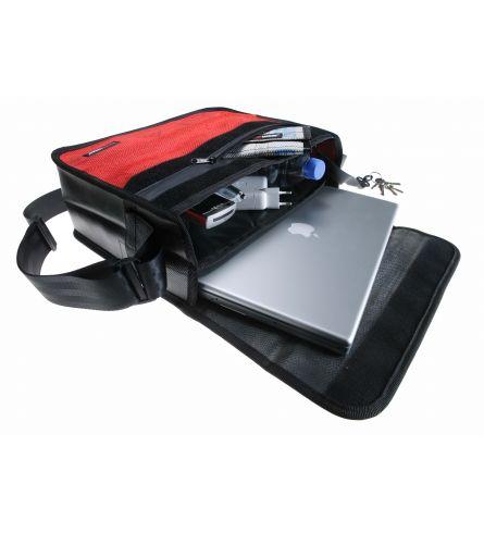 Feuerwear Scott Laptoptas 15 inch Rood