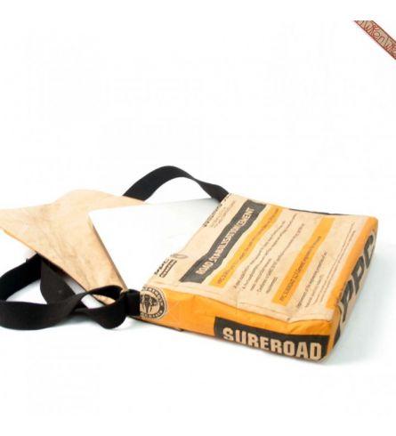 Townshipsmile PPC Cement Laptop Bag Geel