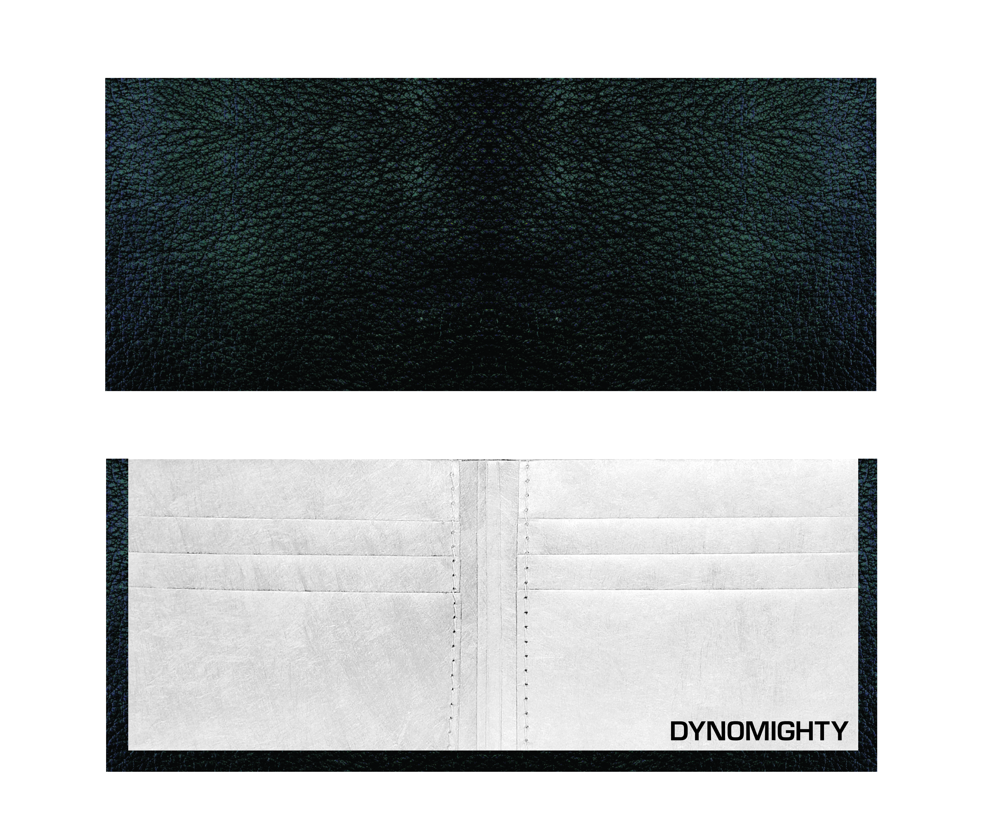 Dynomighty Tyvek Billfold - Black Leather