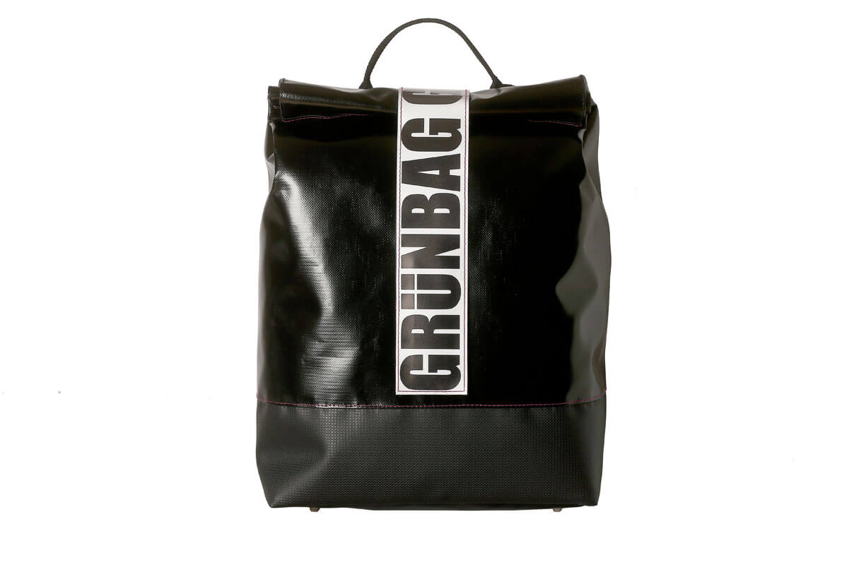 grünBAG Back-Pack Small Black