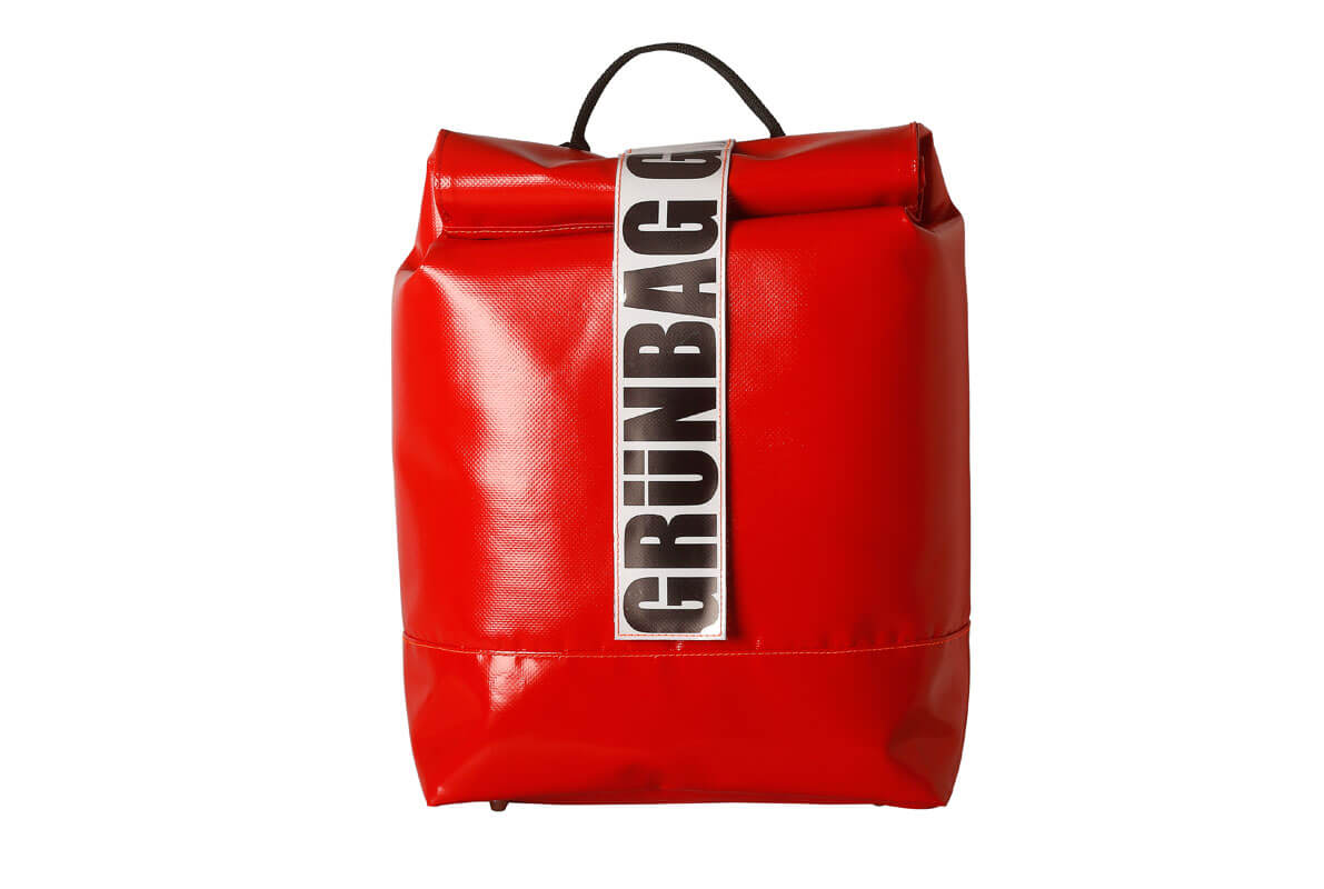 grünBAG Back-Pack Small Red