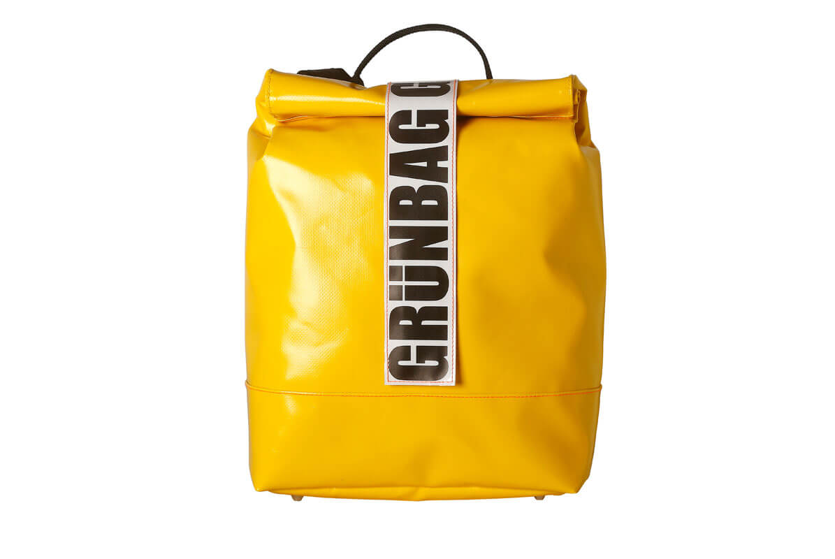 grünBAG Back-Pack Small Yellow