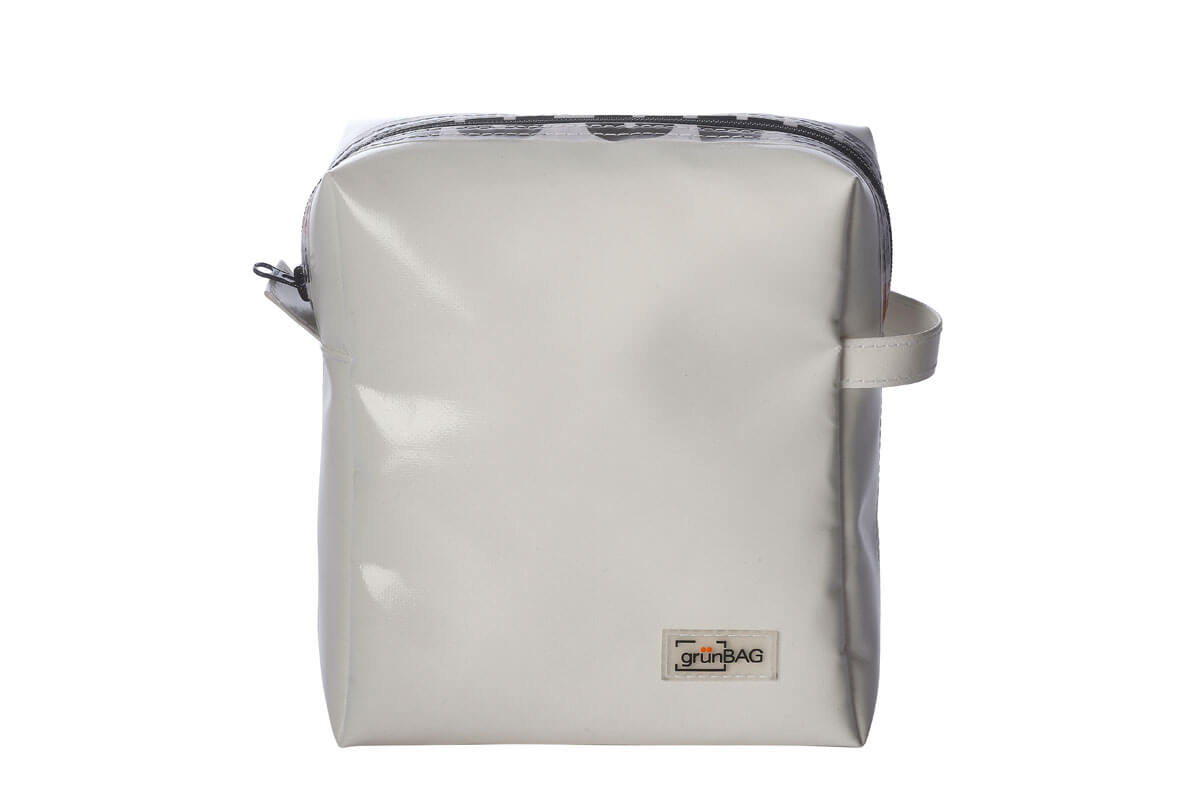 grünBAG Toiletry Big White