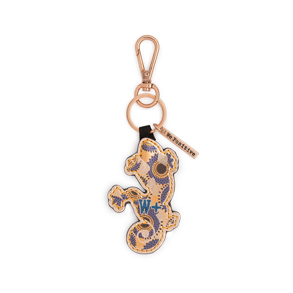 We Positive Keyring Explorer Col. Pink Gold