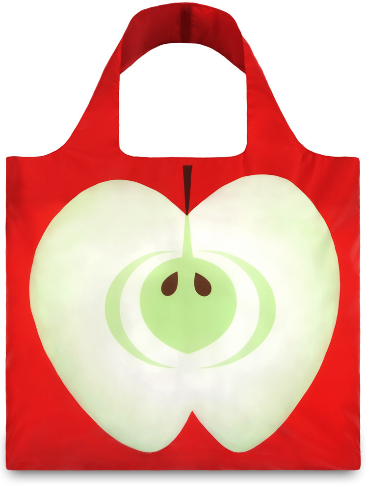 LOQI Shopper Frutti Apple By Samantha Moreno