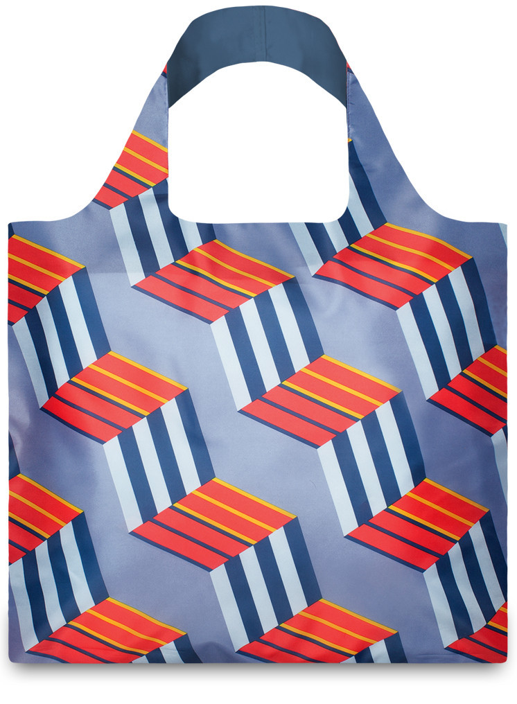 LOQI Shopper Geometric Cubes