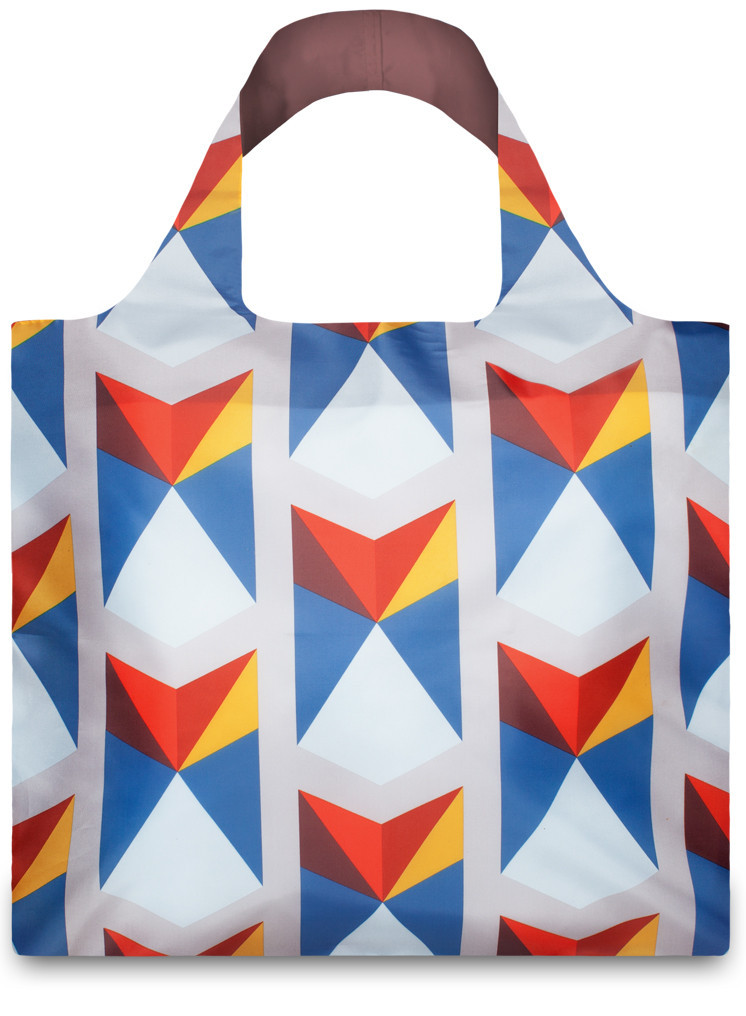 LOQI Shopper Geomatric Triangles