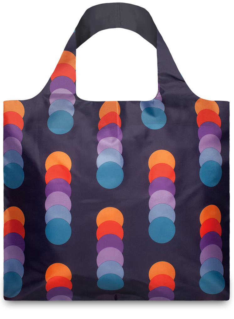LOQI Shopper Geomatric Circles