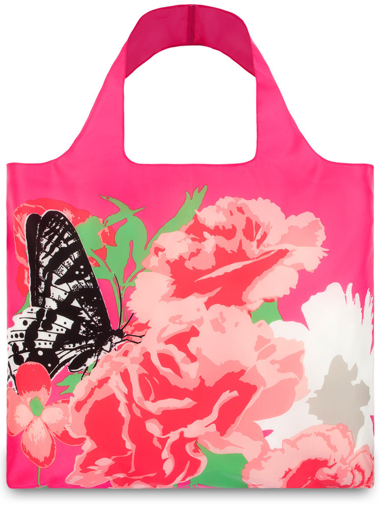 LOQI Shopper Prisma Carnation