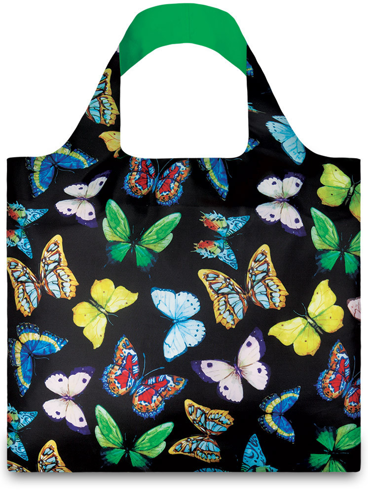 LOQI Shopper Wild Butterflies