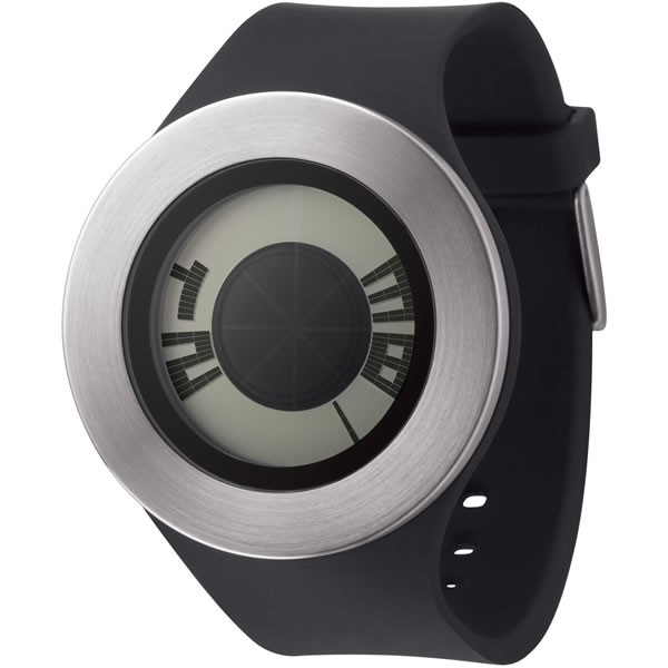 Michael Young Sunstich Watch Silver-black