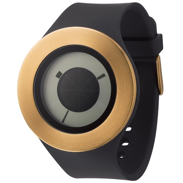 Michael Young Sunstich Watch Gold-Black