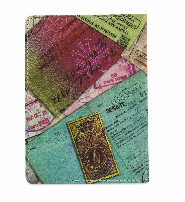 DynoMighty Passport Cover Stamps