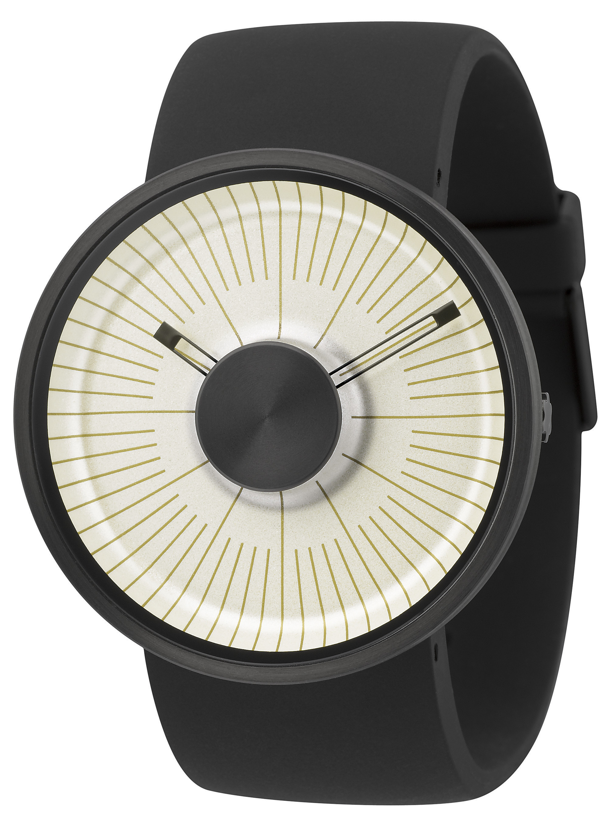 Michael Young Hacker Watch Cream White