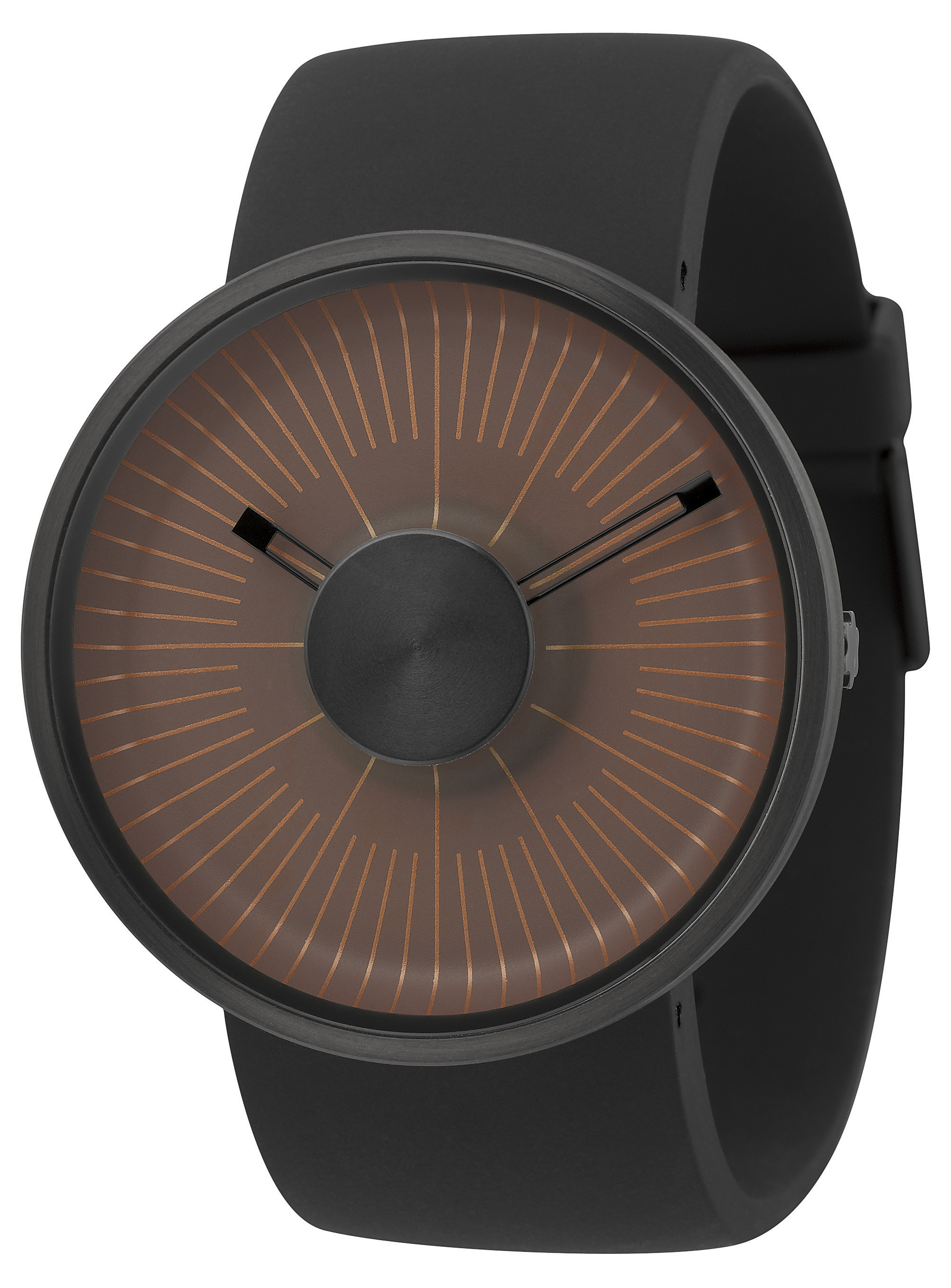 Michael Young Hacker Watch Matte Brown