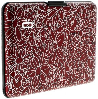Ögon Card Case Large Flowers