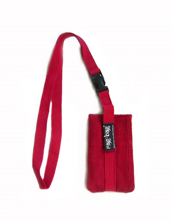 Ragbag Calcutta Mobile Bag Rood