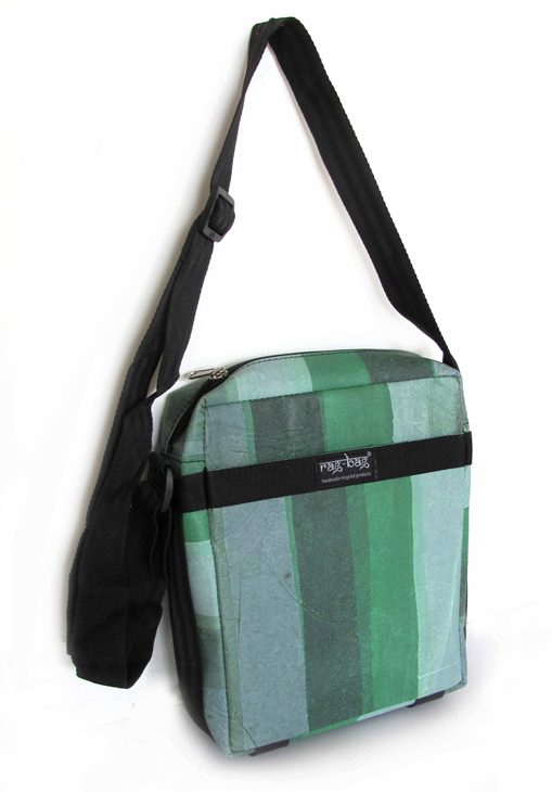 Ragbag Delhi Mini-Schoudertas Green Earth