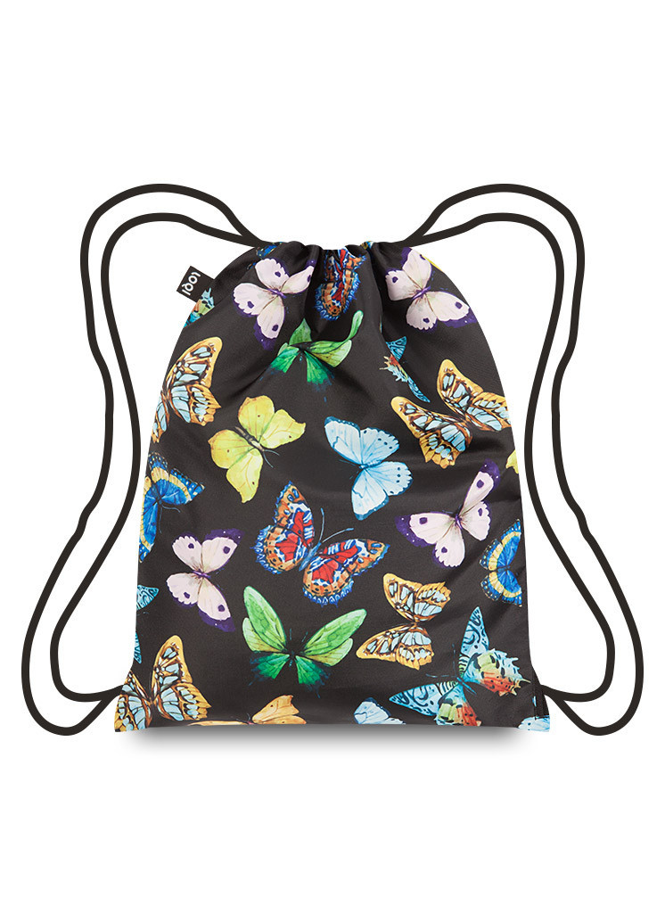 LOQI Butterflies Backpack